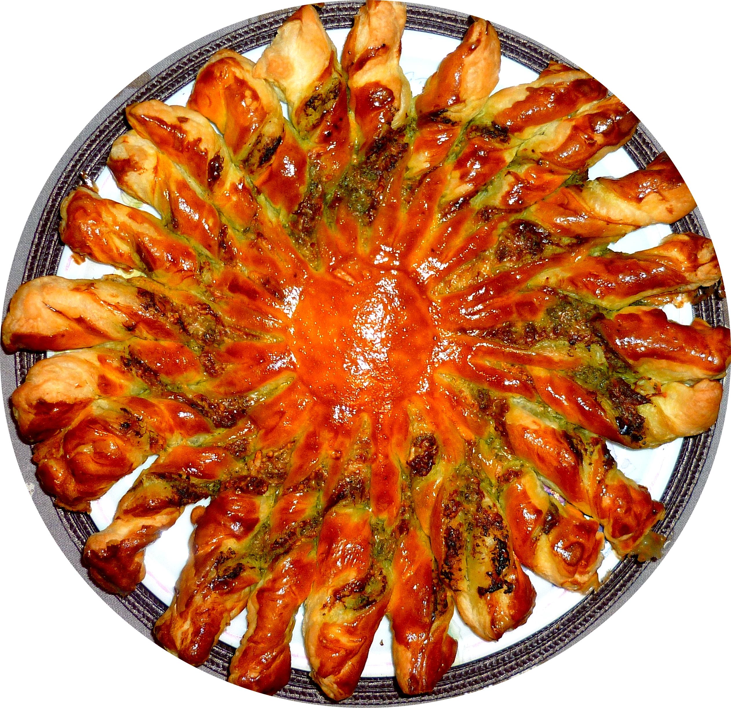 tarte soleil pesto (12)